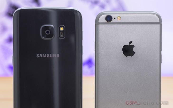 samsung vs iphone